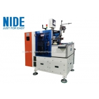 Middle Size Stator Winding Automatic Lacing Machine For Single Phase Motor Manufactures