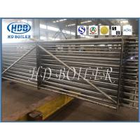 Industrial Power Station Spiral Finned Tube Economiser In Boiler Carbon / Stainless Steel Manufactures