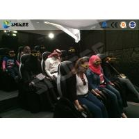 Motion Cinema 5D Simulation System Customized Size 7100 X 3100 X 3000 Mm 9 Seats Manufactures