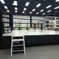 4*4m/5*5m/6*6m/7*7m/7.8*7.8m Boxing Ring/Floor Boxing Ring/Stand with height Boxing Ring Manufactures