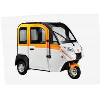 Smart Enclosed Electric Tricycle 1200 W 3 Wheels With Adjustable Seat Cabin Manufactures
