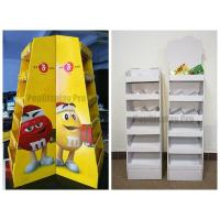 Buy cheap Floor Standing Chocolate Cardboard POS Displays for Foods from wholesalers