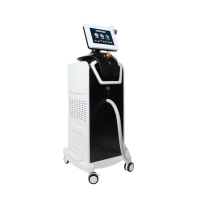 1800W Fiber Optic Laser Hair Removal Machine With 755 808 1064nm Handle Manufactures