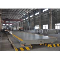 High Precision Sensors Electronic Weighbridge 12mm Steel Plate Avoid Bending Manufactures