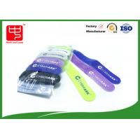 Grade A Eco friendly Hook and Loop Cable Tie 120 * 10mm size 12pcs / bag Manufactures
