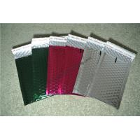 Laminated Colorful Metallic Bubble Mailers For Delivery Industry 345x465mm #K