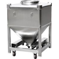 Buy cheap High Strength Structure Intermediate Bulk Container Blender Mixing IBC Bin from wholesalers