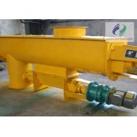 Silo Feed Screw Conveyor For Powder Granular And Small Block Materials Manufactures