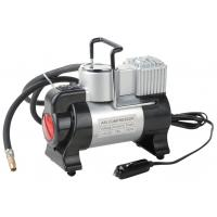 China Silver and Black Metal Air Compressor For Car Inflation With Led Light on sale