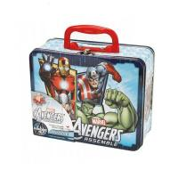 Marvel Avengers Puzzle Tin Lunch Box Manufactures