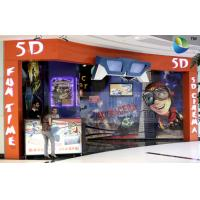 Special Design 5D Theater System With Cabin And Motion Theater Chair Manufactures