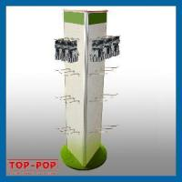 3 Sides Pegboard Display Stand (POP-PD8) Manufactures