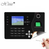 TCP / IP Communication Biometric Time Attendance Machine RFID Card Reader Manufactures