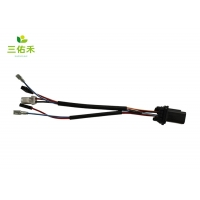 4.0mm Pitch 6 Pin Electric Tailgate LED Light Automotive Wire Harness Manufactures