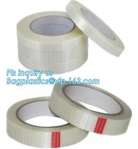 Drywall Mono Line Fiberglass Scotch Mounting Tape Bi-Directional Filament woven coated Fiberglass Tape Joint Tape Manufactures
