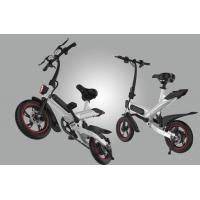 Electric Compact Folding Bike , Lightweight Fold Up Cycles Eco - Friendly Manufactures