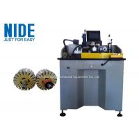 400KG Armature Commutator Turning Machine With Rotary Brushing Station Manufactures