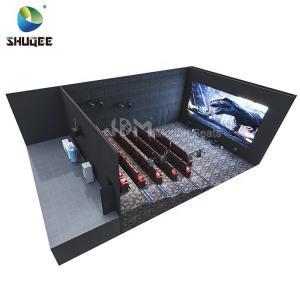 Simulator Motion Chairs 4d Cinema System Solution Equipment Amusement Park Manufactures