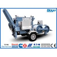 Max Pull 190kN 19T High Voltage Transmission Line Stringing Equipment Manufactures