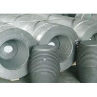 Industrial UHP Graphite Electrode Raw Materials For Arc Furnaces Low Resistivity Manufactures