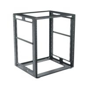 Half 10U Reinforced Steel Network Equipment Rack Universal 19 Inch Width Manufactures