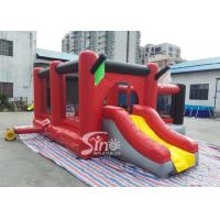 Commercial outdoor kids red combos with slide for amusement park from Sino factory Manufactures