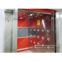 Multi Person Automatic Induction 304 SUS Cleanroom Air Shower Manufactures