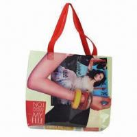 Shopping Bag, Made of PVC, Customized Designs are Accepted Manufactures