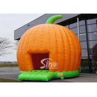 Halloween Inflatables Giant Pumpkin Kids Bounce House Double for outdoor party Manufactures