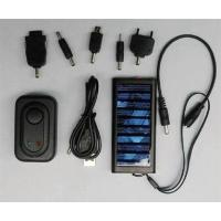 Energy - saving DC5.5V portable solar powered cell phone chargers with competitive price Manufactures
