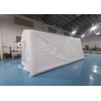 Emergency Isolation Inflatable Medical Tent 0.9mm PVC Tarpaulin Manufactures
