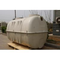 FRP SMC Toilet Septic Tank for Sewage Treatment 1-3M3 Manufactures