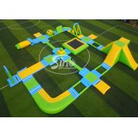 Custom Design Giant Floating Inflatable Aqua Amusement Park For Summer Outdoor Water Playing Manufactures