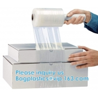 Stretch Wrap Film Industrial Strength Clear Cling Plastic Pallet Supplies | Durable Self-Adhering ● Packing ● Moving Manufactures