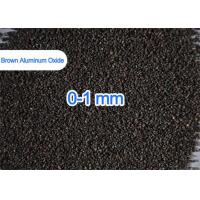 1 - 3mm / 3 - 5mm Brown Aluminum Oxide For Refractories Castables Refractory Bricks Manufactures