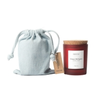 Cork Lid Soy Wax Scented Jar Candle Manufactures