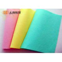 Water Absorbency Non Woven Geotextile Fabric , Non Woven Cleaning Cloths Manufactures