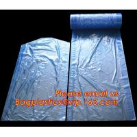 wholesale laundry garment bag on roll clear ldpe with printing, Plastic garment bags on roll Manufactures