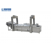 Food Precooking Peanut Blanching Machine 3kw Power Adjustable Temperature Manufactures