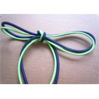 Elastic Polished Cotton Cord Rope , Cotton Braided Cord Eco Friendly Manufactures