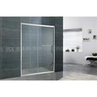 Buy cheap Aluminum Alloy Bathroom Shower Screens Tempered Glass Moving Door for Home / from wholesalers