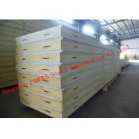 China Customized Heat Insulation Cost Saving Insulated PU Sandwich Panels For Wall Systems on sale