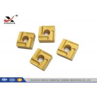 Cemented Carbide Turning Inserts Machining Steel SNMG120408 High Presion Manufactures