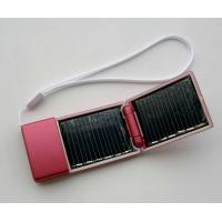 Portable 2600mAh Li-ion Battery-set Emergency Solar Power Charger For Mobiles Manufactures