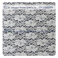 Thick Brushed Bridal Lace Cotton Nylon Fabric For Lady Winter Dress Manufactures
