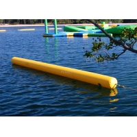 Triathlon Water Games Used Floating Long Tube Inflatable Cylinder Training Buoy For Water Park Racing Marks Manufactures