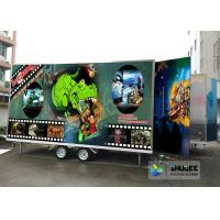 Mobile Durable Digital 7D Cinema Dymanic Chair With Best Special Effects Manufactures