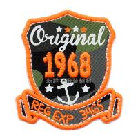 Classcial Creative Embroidered Patches For Clothes / Hats / Backpacks Decor Manufactures