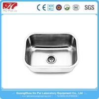Buy cheap Large Laboratory Stainless Steel Lab Furniture Durable PP Black Lab Sink from wholesalers