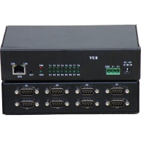 Buy cheap 8 Port Serial RS232/422/485 to Ethernet Developed Server/Com Driver,Industrial from wholesalers